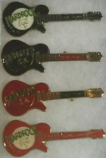 "Hard Rock Cafe CAPE TOWN 1990s ""Ndebele"" GUITAR 4 PINS Pre-Unification HRC Logos"