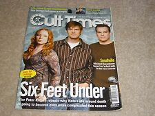 SIX FEET UNDER * PETER KRAUSE * SMALLVILLE October 2004 CULT TIMES MAGAZINE