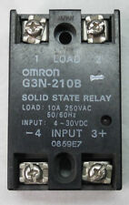 OMRON - G3N-210B - SSR RELAY SOLID STATE DC 10A 250VAC RELE' STATO SOLIDO