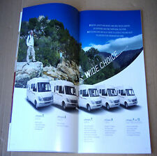 CHAUSSON 2008 Flash Welcome Top Allegro ✿ BROCHURE CATALOGUE CAMPING-CAR ✿