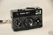 Very nice working ROLLEI 35 T  + bag ! (ca 1980)