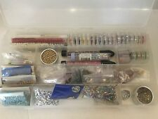 Huge Lot Craft Beads Jewelry Making Pearl Beads Seed Beads Making Memories