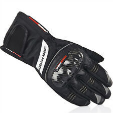 Motorcycle Waterproof/Windproof Gloves Warm Carbon Fiber Black Blue Red M L XL