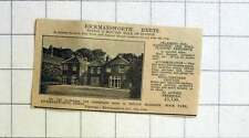 1927 Rickmansworth New Station, 9 Beds, 4 1/2 Acres, £5750