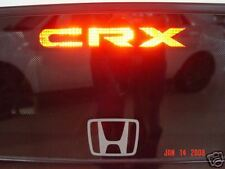 Honda CRX 3rd brake light decal overlay 88 89 90 91