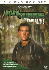 BORN SURVIVOR BEAR GRYLLS SERIES 6 - SIX DVD BOX SET