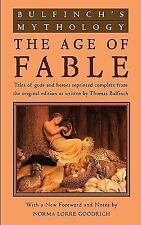 Bulfinch's Mythology: The Age of Fable-ExLibrary