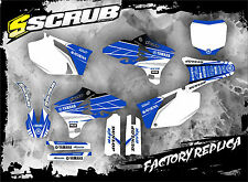 SCRUB  Yamaha YZf 250 - 450 2003 - 2005  Grafik Sticker Dekor-Set