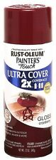 12 Oz Rust-Oleum Multi Purpose Indoor/Outdoor Fast Drying Spray Paint Cranberry
