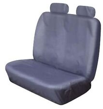 HEAVY DUTY FRONT DOUBLE BENCH GREY WATERPROOF SEAT COVER RENAULT TRAFIC