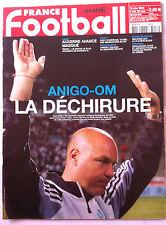 FRANCE FOOTBALL 16/11/2004; Anigo-OM/ Malouda/ Ronaldinho, Kaka et Adriano