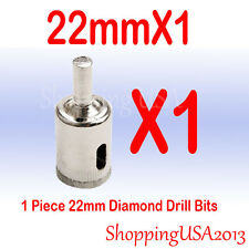 1 pcs 22mm Diamond tool drill bit hole saw set cutter glass marble ceramic