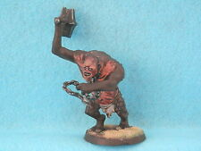 WARHAMMER LOTR/HOBBIT-MORIA ARMY CAVE TROLL WELL PAINTED PLASTIC