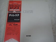 CELESTE-same Japan 1st.Press w/OBI PFM Banco Osanna Pink Floyd King Crimson Yes