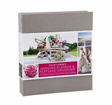 Colin Cowie's Wedding Planner and Keepsake Organizer BRAND NEW FACTORY SEALED