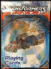 TransFormers Armada Deck Playing Cards Poker Size USPCC Custom Limited Sealed