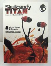 Skullcandy Titan Supreme Sound In Ear Headphones With Mic1+ Remote & Travel Bag
