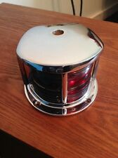 Vintage Boat Bow Light C501 Rechromed and Rewired