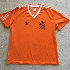 Holland Football Shirt Home Dutch Netherlands 1985 Classic Adidas Large