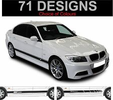 BMW 3 SERIES BMW 316 318 320 323 325 328 330 335 SIDE STRIPE Decalcomanie