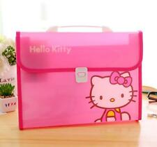 Hello Kitty Office Student School Expanding Files Bag Case Box Organizer Folder