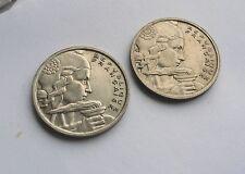 Francia, 100 francos 1954 y 1955 en buenas condiciones.