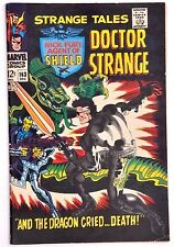 STRANGE TALES #163 1967 TIGHT FN++ THE YELLOWCLAW AND DOC VS.LIVING TRIBUNAL