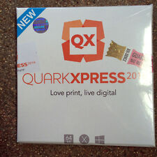 per pc Windows idisco installazione QUARK XPRESS 2016 in ITALIANO nuovo sigillat