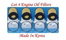 (4) Engine Oil Filter Fits:Mercedes-Benz Dodge Sprinter 2500 3500 V6 3.0L Diesel
