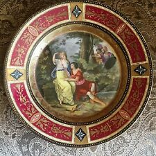 Lovely Royal Vienna Plate Classical Scene