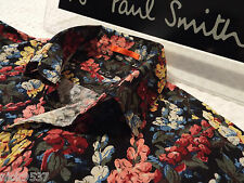 "PAUL SMITH Mens Shirt �� Size S (CHEST 40"") �� RRP £95+ �� ABSTRACT FLORAL PRINT"