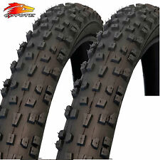 "2x Coyote TY2602N 26"" X 2.1 Grippy Mountain Bike Tyres (1 Pair)"