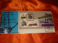 Singapore 1972 Shipping Series, Miniature Sheet on FDC
