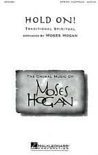 Hold On SATB Vocal Choral Learn Sing Soprano Bass Tenor Voice Music Book