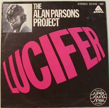"""THE ALAN PARSONS PROJECT - LUCIFER - I`D RATHER BE A MAN 7"""" SINGLE (F914)"""
