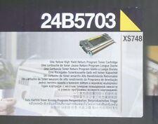 Original Lexmark 24B5703 Toner gelb yellow für XS748 A-Ware