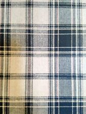 York Wallpaper, Double Rolls, County, Farmhouse ,Navy Blue, White, Beige Plaid.