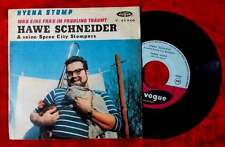Single Hawe Schneider & Spree City Stompers: Hyena Stomp (Vogue V 45 940) F