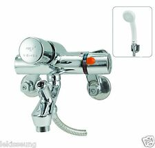 PREO, Self Closing Shower Mixer, Basin Faucet, Water saving Taps, Button Tap