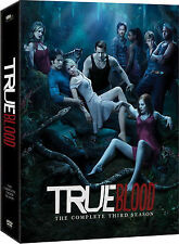 True Blood - Series 3 - Complete - English (DVD, 2011, 5-Disc Set, Box Set)