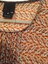 Anthropologie Rare Anna Sui Parrot Sol Patterned Top NWOT M $339