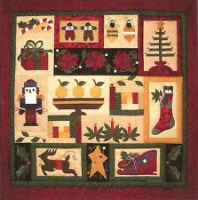 CHRISTMAS IN CONNECTICUT BLOCK OF THE MONTH QUILT PATTERN PRAIRIE GROVE PEDDLER