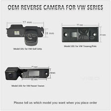 Car Rearview Reverse Camera for VW Passat Touran Jetta Golf Touareg Polo Touareg