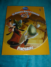 DISNEY - THE WONDERFUL WORLD OF KNOWLEDGE - NO 1 DINOSAURS