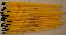 Lot 25 New Fishing Rod Building Epoxy Finishing Yellow Nylon Disposable Brushes