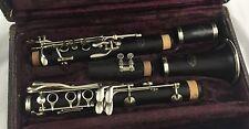 Vintage Evette Schaeffer BUFFET E-12 Bb Clarinet- Nickel keys , Newly Overhauled