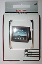 GENUINE HAMA  PORTFOLIO  COTTON CASE COVER FOR APPLE iPAD - BRIGHT BROWN - NEW