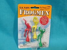 NOS U.S.NAVY FROGMEN BAKING POWDER POWERED CEREAL PREMIUM REPRODUCTION TOY