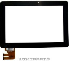 Black Front Lens For Asus Eee Pad Transformer TF300 TF300T Touch Panel Digitizer