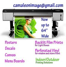 """Your Own Photo or Graphic Design"" Custom Printed Poster 11""x17"""
